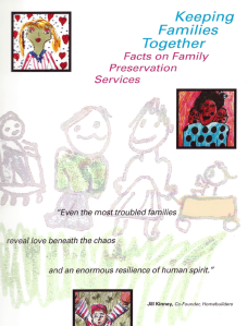 Keeping Families Together Title Page